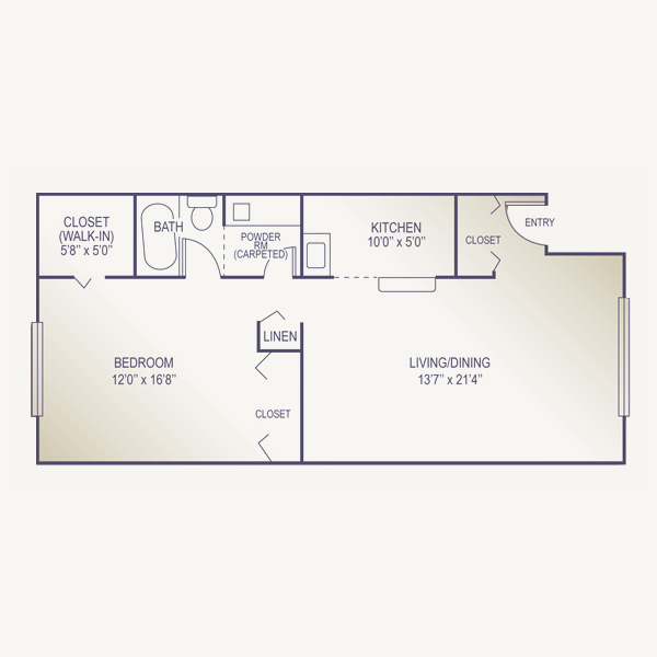 House plan one room house design plans for Single room cabin plans